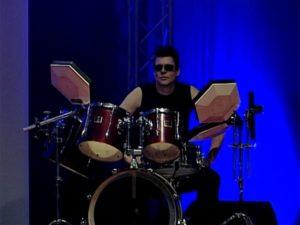 Drummer der Partyband in Erfurt